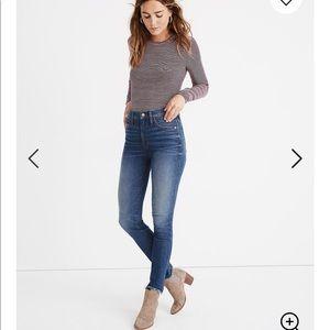 "Madewell 10"" Skinny Jeans"